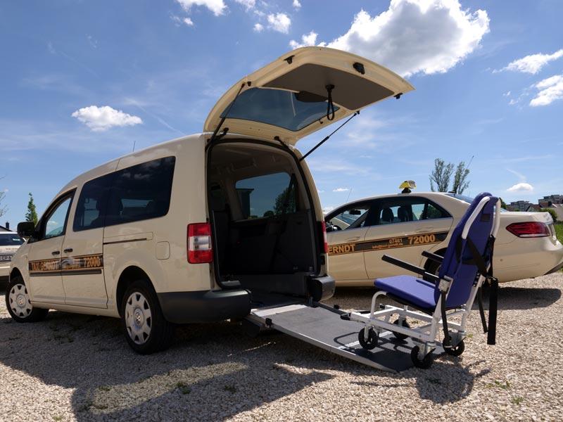 Tragestuhl-Fahrzeuge - Taxi Gerndt Tuttlingen