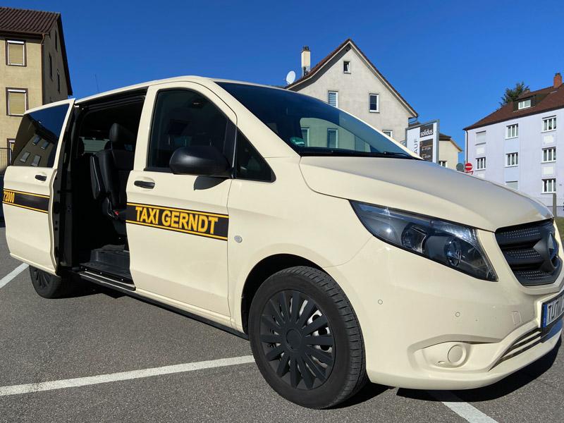 Großraumtaxi - Taxi Gerndt Tuttlingen